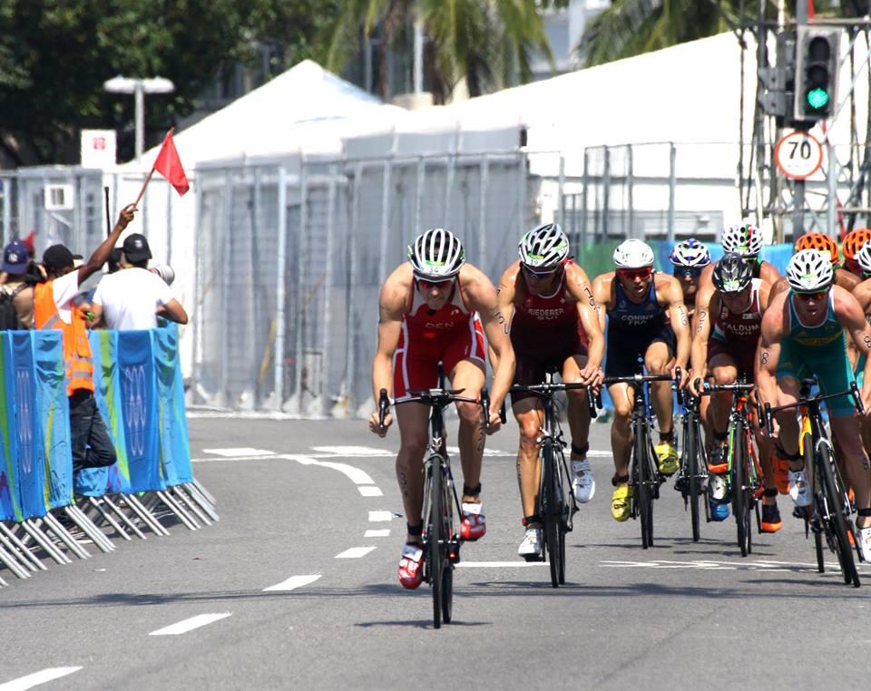 Cyklingen blev kørt aggresivt fra Andreas' side. (Foto: Lea Hoffmann)
