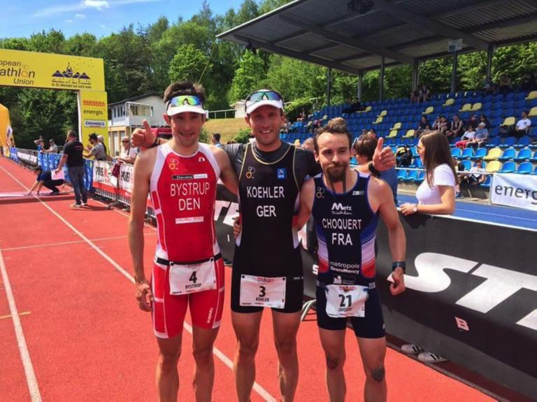 Søren Bystrup vinder EM sølv i duatlon