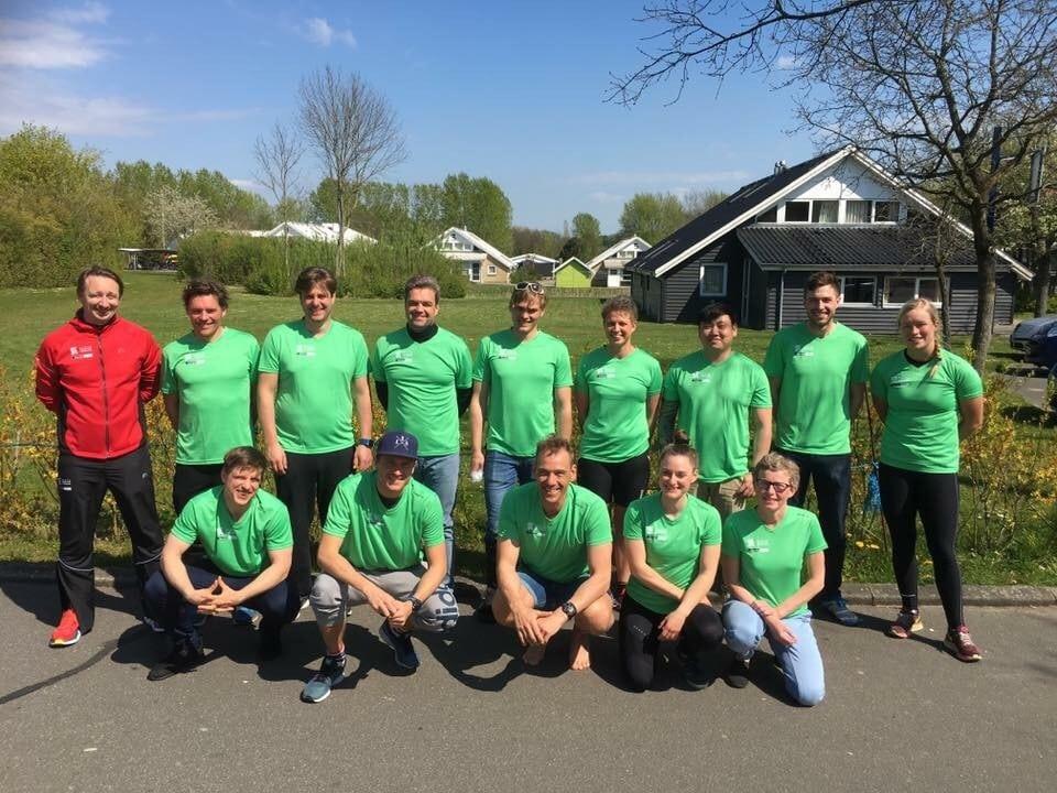 Nye friske trænere (Foto: Torben Lykke)