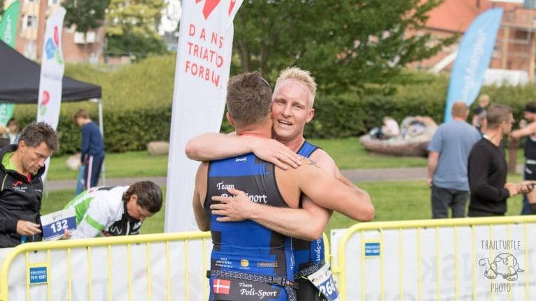 15 nykårede danske mestre på OL-distancen ved Kanaltriatlon i Næstved