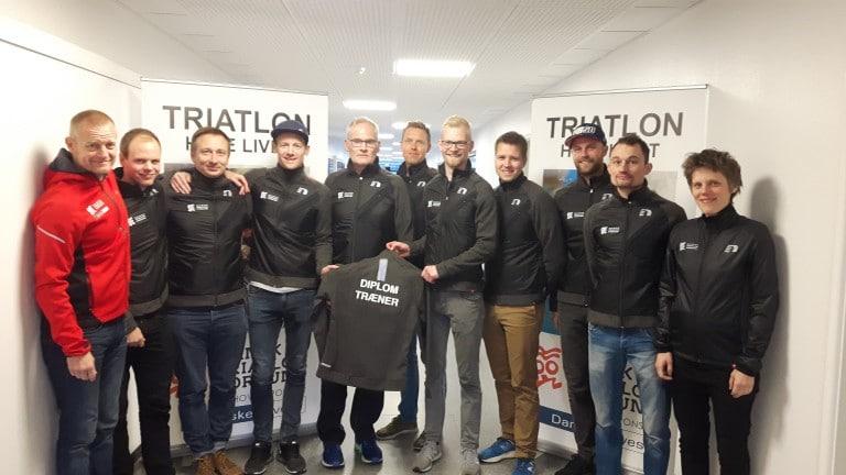 Nye Diplomtrænere til Triatlon-Danmark