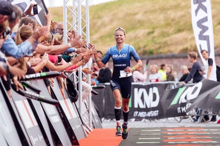 Helle Frederiksen 2'er ved Ironman 70,3 European Championships i Helsingør