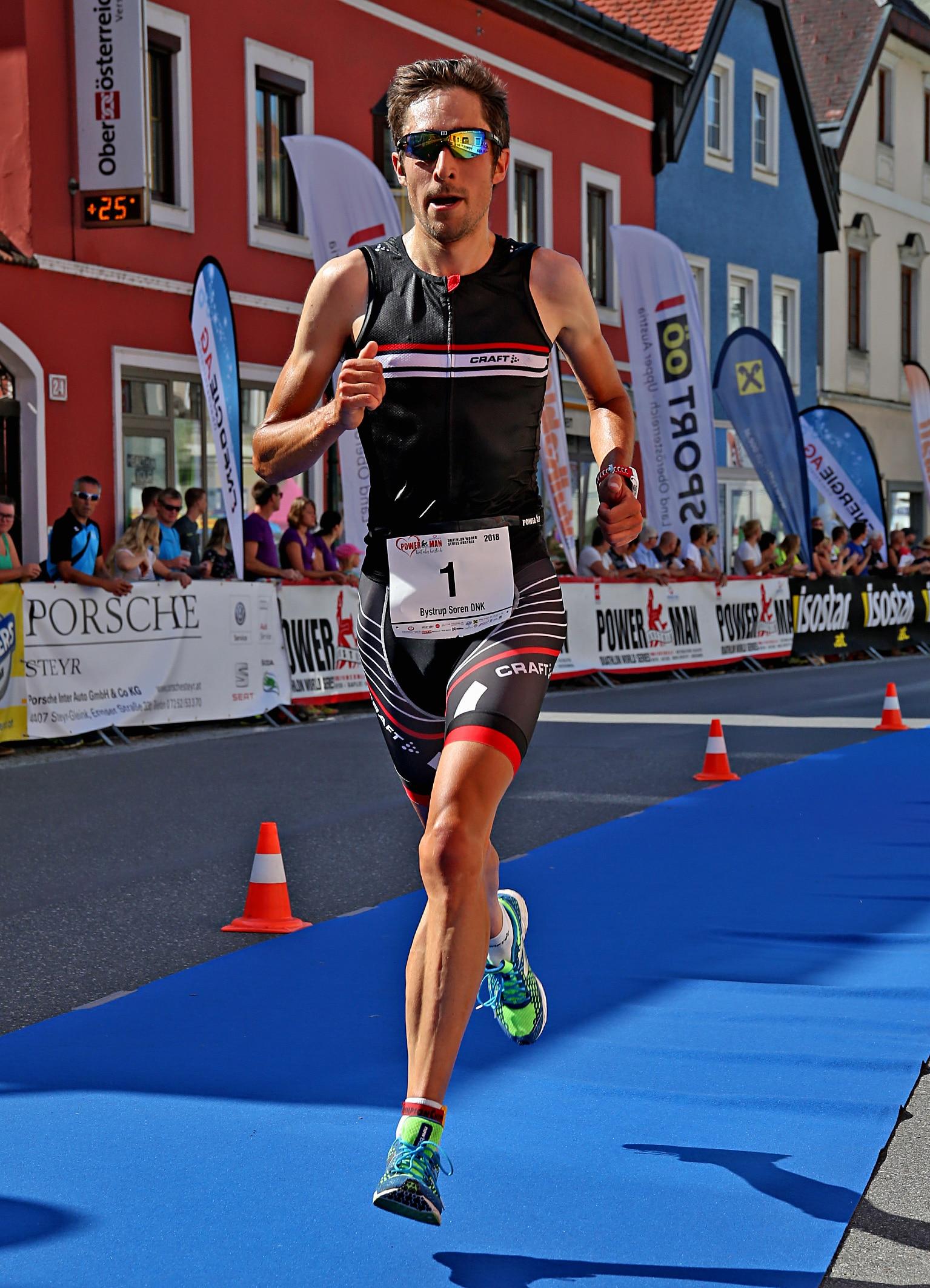 Søren Bystrup vinder Powerman Østrig