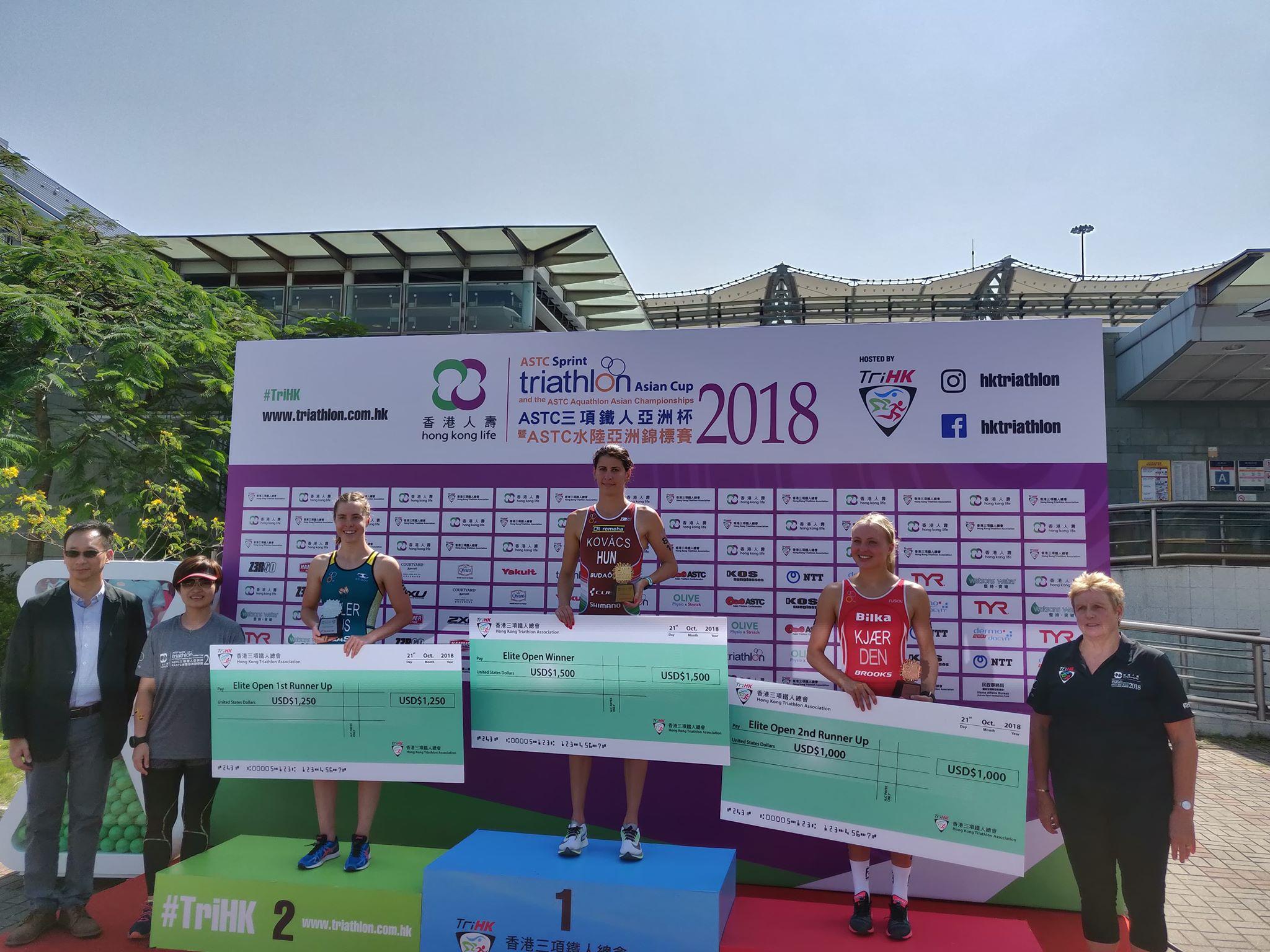 Alberte Kjær Pedersen 3'er i Hong Kong Asian Cup
