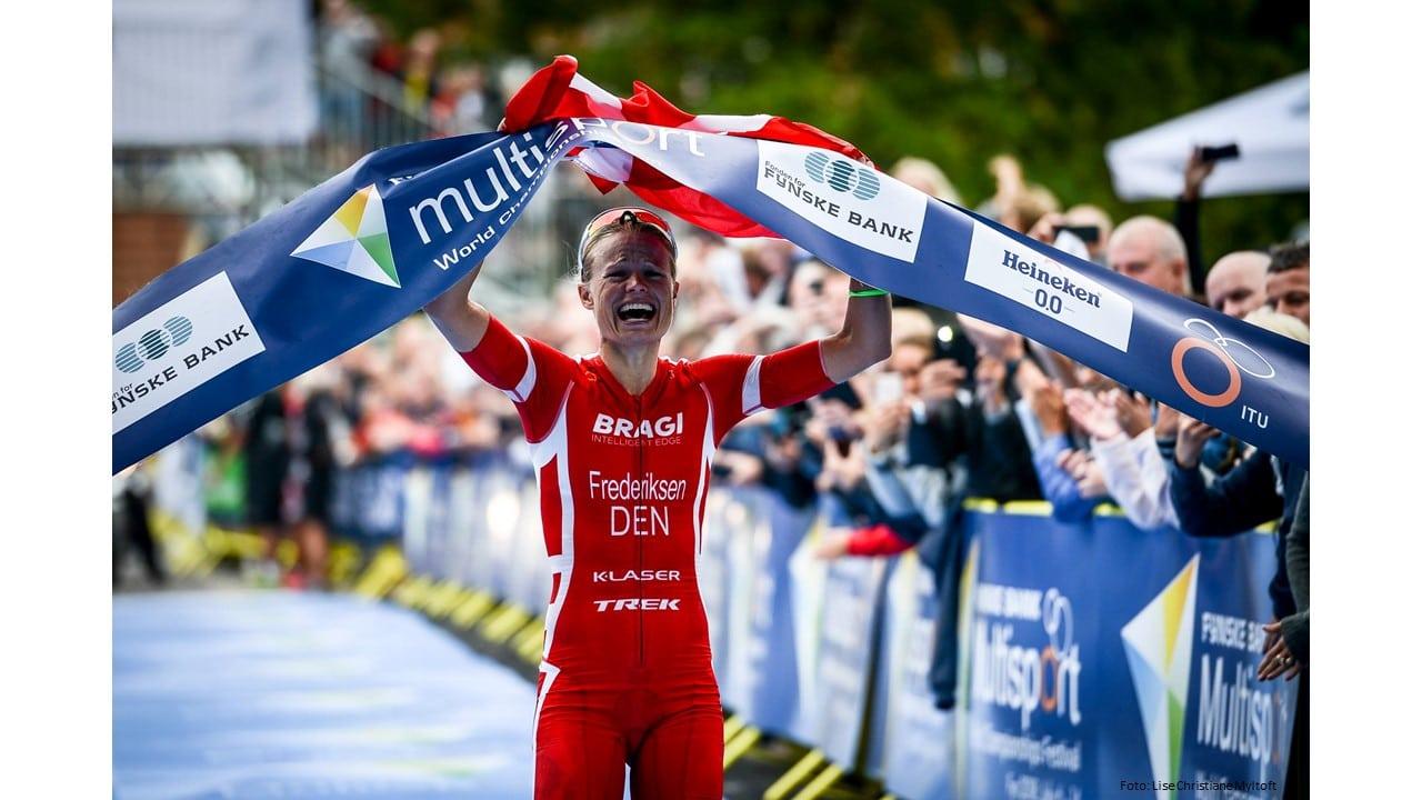 Årets triatlet 2018: Helle Frederiksen