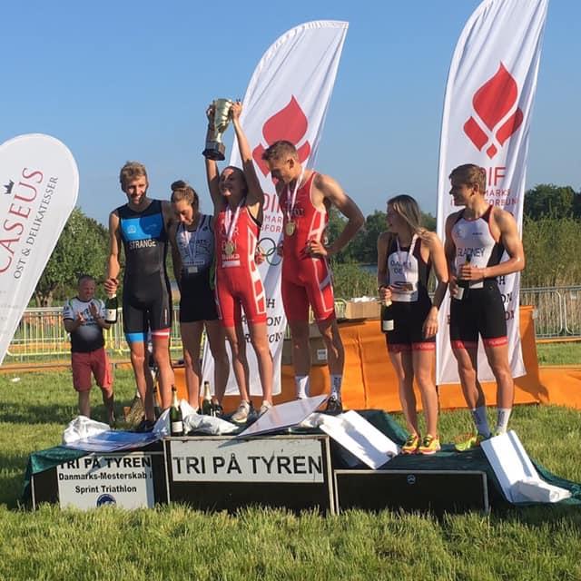 Miki Taagholt og Alberte Kjær vinder DM Sprint