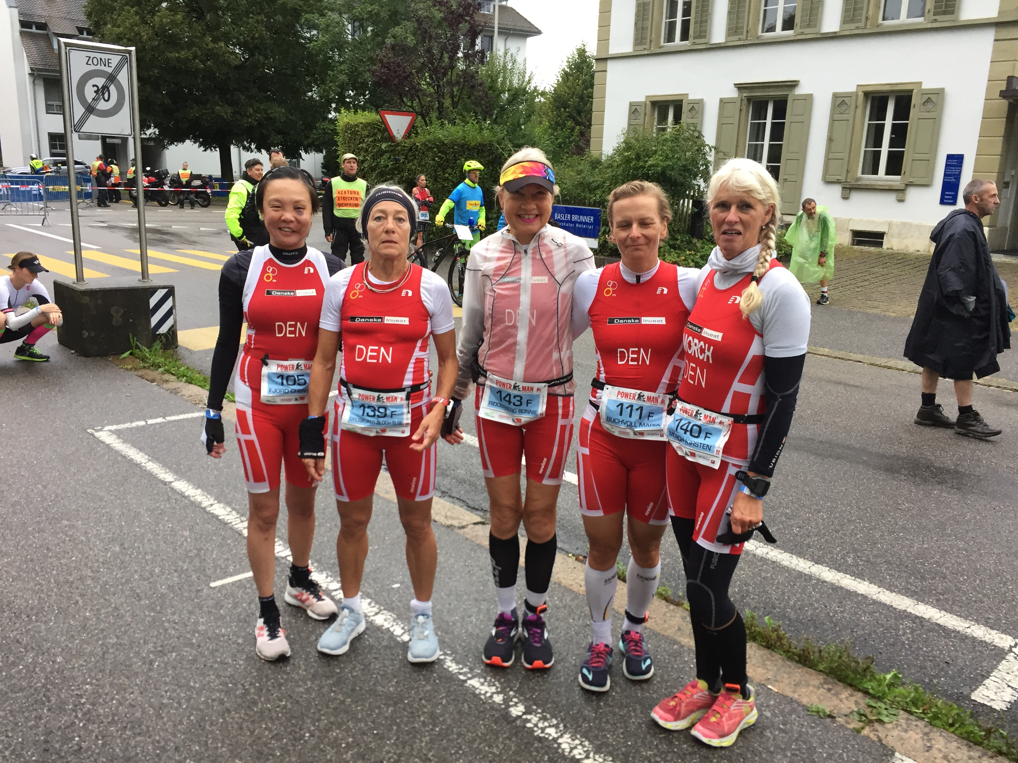 Zofingen ITU Powerman Long Distance Duathlon World Championships med 6 danske medaljer!