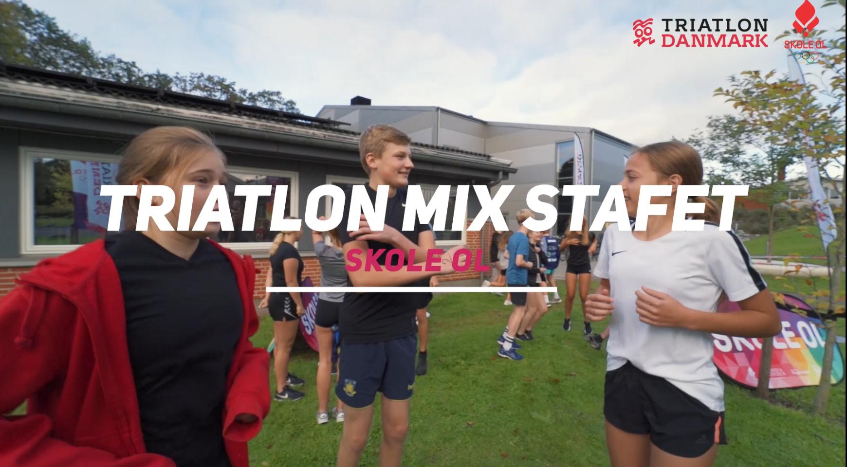 Klik på billedet og se filmen om Skole OL Triatlon Mix Stafet