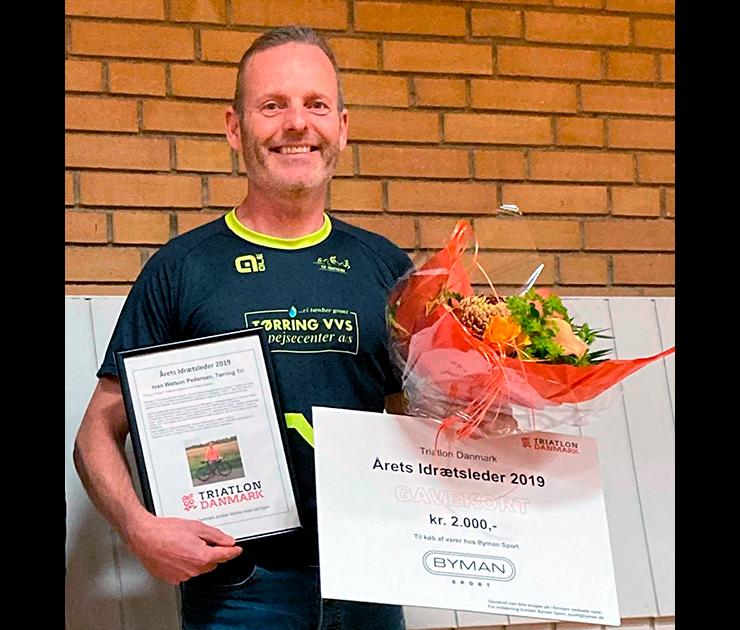 Ivan W. Pedersen er årets idrætsleder 2019