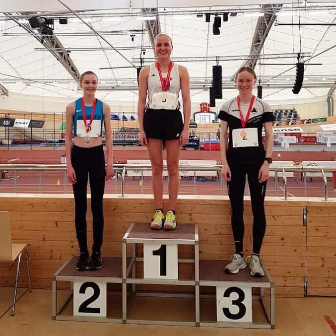 Alberte Kjær Pedersen dansk mester på 3000m i meget flot tid